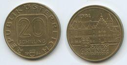 Austria - 1984 - 20 Schilling - Grafenegg Palace - KM 2965 - VF - Austria