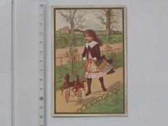 CHROMO AU BON MARCHE: Le Petit Cocher (MI. 10 Jeux) - Jeu D'enfant Attelage Cheval - Lith. MINOT - Au Bon Marché