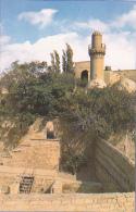 Baku - Palais Des Chirvanchahs (XVe Siècle) Pas Circulé, Carte Coupée - Azerbaïjan
