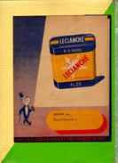 PROTEGE CAHIER  : Pile LECLANCHE  Pl20 Monsieur Pile - Protège-cahiers