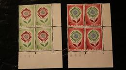 Belgium 614-614 Block Of Four MNH Europa  1964 A04s - Belgium