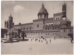 Foto (edizione Alinari )  N.° 19502 Palermo La Cattedrale - Lieux