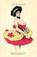 [DC3831] CPA - HUMOR - CONCORSO DI BELLEZZA - Non Viaggiata - Old Postcard - Humor