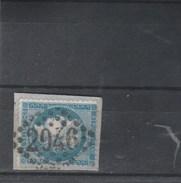 Yvert 60A Sur Fragment Cachet Oblitération Losange GC 2946 PONT FARCY Calvados - 1871-1875 Cérès
