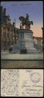 S0636 DR Belgien WW I Feldpost Karte Antwerpen ,Marine Flak Batterie, Gebraucht Antwerpen - Neuenkirchen Sulingen 1917 - Covers & Documents