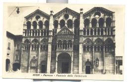 FERRARA FACCIATA DELLA CATTEDRALE  VIAGGIATA FP 1932 - Ferrara