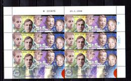 1998 Holocauste, Yv. 1403** En Feuille De 6, Cote 26 €, - Blocks & Sheetlets