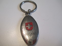 SUISSE /Militaria / Marine Suisse / Swiss Navy/ Années 80         POC224 - Porte-clefs