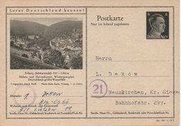 7/ Deutsches Reich Ganzsache Bildpostkarte P 307/ 42-39-1-B3 Beschriftet - Ganzsachen