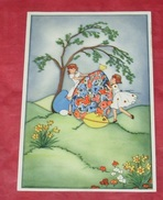 Dessins D'enfants Avec Un Oeuf - Arbre - Fleurs : Heureuse Pâques :: Fêtes - Voeux    ----------------- 403 - Children's Drawings