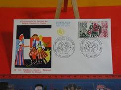 FDC > 1970-1979 > Immigration Polonaise 1923 - 62 Auchel - 3.2.1973 - 1er Jour. Coté 1,80 € - FDC