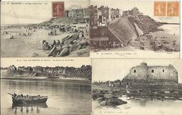 LOT DE 33 CARTES POSTALES ANCIENNES DE LE PORTEL (PAS DE CALAIS). - Le Portel