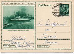 14/ Deutsches Reich Ganzsache Bildpostkarte P221/ 032 Gelaufen/ Used - Ganzsachen
