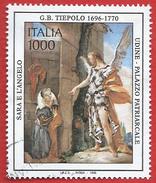 Italia 1996; Giambattista Tiepolo : 3° Centenario Della Nascita. Francobollo Usato - 1991-00: Usati