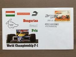 Busta Ufficiale Hungaroring Gran Premio F1 1988 Ungheria Annullo 8-8-1988 - Grand Prix / F1