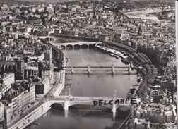 PHOTO ANCIENNE  AERIENNE RARE,PAR LAPIE SERVICE AERIEN,EN AOUT 1956,69,RHONE,LE GRAND LYON - Places