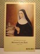 Mother Klara Zizic Holly Card - Religion &  Esoterik