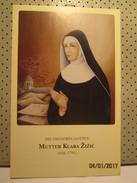 Mutter Klara Zizic Holly Card - Religion & Esotericism