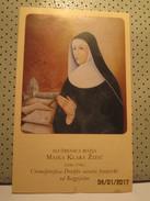 Majka Klara Zizic Holly Card - Religion & Esotericism