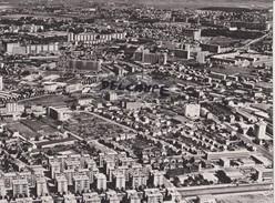 PHOTO ANCIENNE  AERIENNE RARE,PAR LAPIE SERVICE AERIEN,EN AOUT 1961,69,RHONE,LE GAND LYON,QUARTIER DES ETATS UNIS - Lieux