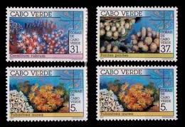 (044) Cape Verde / Cabo Verde  Marine Life / Vie / Corals / Coraux / Korallen / 1992  ** / Mnh   Michel 649-52 - Kap Verde