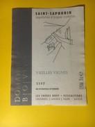 2986 -  Suisse Vaud St-Saphorin Vieilles Vignes 1997 Domaine Bovy - Etiquettes