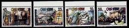 (051) Cape Verde / Cabo Verde  Tales / Fontaine / 1995  ** / Mnh   Michel 703-06 - Kap Verde