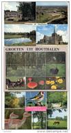 HOUTHALEN-LOT VAN 14 POSTKAARTEN-GROETEN UIT-GEMEENTEHUIS-MEERZICHT-KASTEEL HENGELHOEF-DOMEIN-5 SCANS-OPRUIMINGSPRIJSJE! - Houthalen-Helchteren