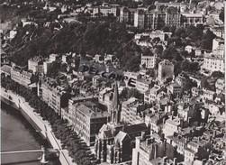PHOTO ANCIENNE AERIENNE RARE,PAR LAPIE SERVICE AERIEN,AOUT 1956 ,69,RHONE,LE GRAND LYON - Places