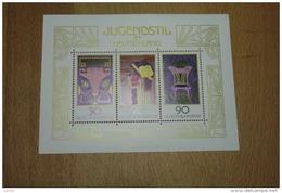 Allemagne Bloc Feuillet N°14 Blok Jugendstil In Deutschland 1977 ** - Blocks & Sheetlets