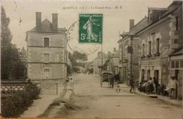 CPA-142 - MONTS - LA GRANDE RUE - Autres Communes