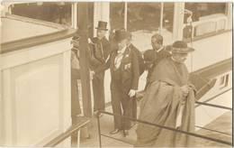 Köln Bischof Felix Von Hartmann + Gäste A Bord Rhein Dampfer 1913 Inthronisierung Bischof Verläßt Dampfer Auf Gangway - Christianisme