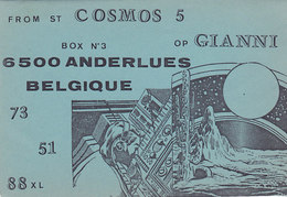 QSL Card Radio Amateur CB Belgium Cosmos 5 Op Gianni Anderlues - CB