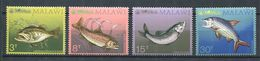 185 MALAWI 1974 - Yvert 213/16 - Poisson  - Neuf ** (MNH) Sans Trace De Charniere - Malawi (1964-...)