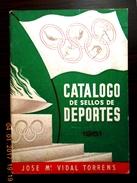 CATALOGO De SELLOS De DEPORTES - Year 1961. - Francobolli