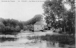 (1) CPA  Polisy  Moulin  (bon Etat) - France