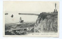 2278  Lot De 3 Cartes DIEPPE Non Circulées Falaise Du Pollet L'Entrée Du Port Les Bains L'Escalade Toutes Faces Scannées - Dieppe