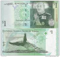 Tonga - 1 Pa'anga 2014 Pick 37b UNC Lemberg-Zp - Tonga