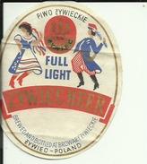 ZYWIEC BEER  --  LABEL, ETIQUETTE  --  POLAND - Bier
