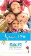 Agenda De Poche 2016. Action Enfance. - Calendriers