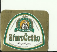STARO CESKO PIVO --  LABEL, ETIQUETTE  --  PIVOVARA DARUVAR, CROATIA - Bier