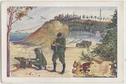 Associazione Nazionale Dell'Arma Del Genio La Santa Barbara Roma Castel S.Angelo #Cartolina #Militari - Regiments