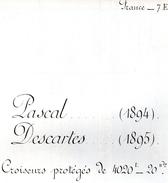 Livret De Marine De Guerre - FRANCE - 7E - PASCAL - Vieux Papiers