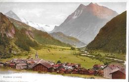 EVOLÈNE → Generalansicht Vom Dorf, Sehr Alter Lichtdruck Ca.1900 - VS Valais