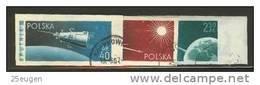 POLAND 1959 MICHEL No: 1127B-1129B SET USED /zx/ - Usados