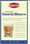 GANCIA  --  VERMOUTH BIANCO DI TORINO --  LABEL, ETIQUETTE  --  ITALIA - Etiketten