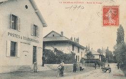 La Balme De Sillingy - Rte De Frangy - Postes Et Télégraphes - Duret Mercerie Tissus Matelassier Cardeuse Vélo - Frankrijk