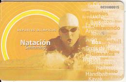 EL SALVADOR(chip) - Swimming, Chip GEM3.3, Used - El Salvador