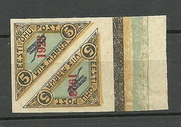 Estonia Estonie 1923 Michel 41 In Pair + Nice Margin MNH - Estonia