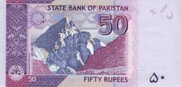 PAKISTAN P. 50c 50 R 2008 UNC - Pakistan